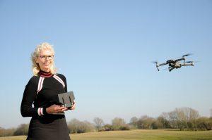 Drohnenpilotin Doris Heldt aus Kiel