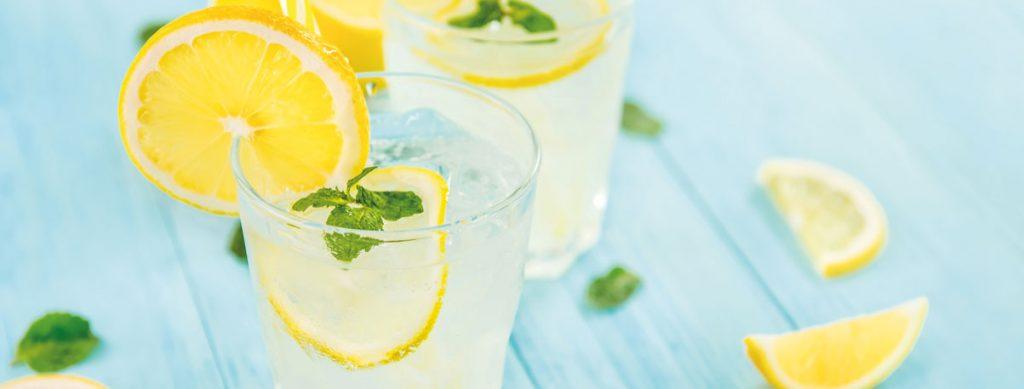 Rezept für selbstgemachte Limonade