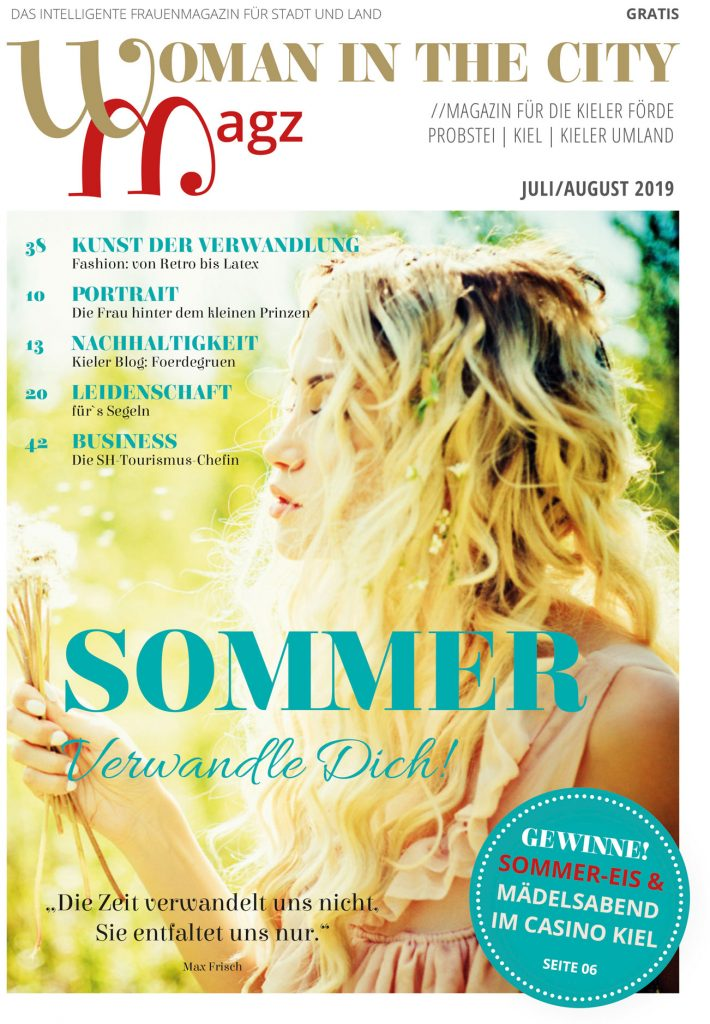 Titel Ausgabe Woman in the city Sommer 2019