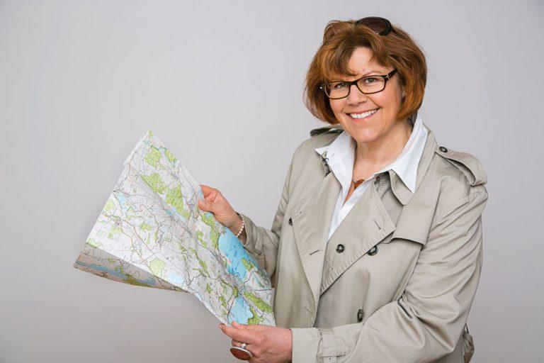 Angela Gripp ist unterwegs als Landfrau und Stadt-Expertin