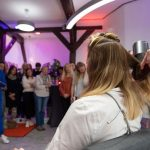 Woman in the city Event im Mike Großmann Salon. Vorführung Quick Styling
