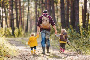 Zeit mit den Kindern verbringen, bedeutet Nachhaltigkeit