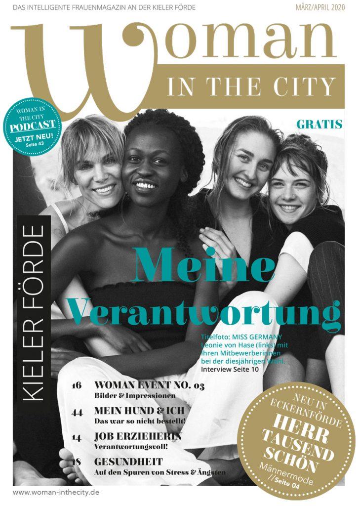 Woman in the city Magazin Ausgabe März/April 2020
