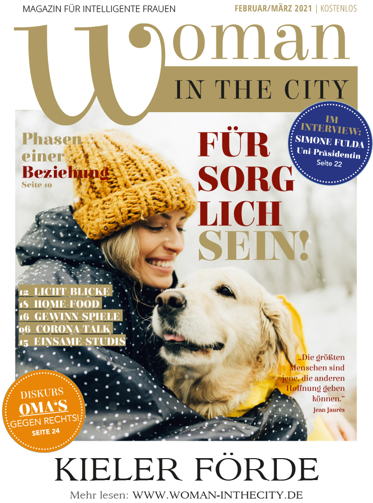 Woman in the city Ausgabe Feb/März 2021